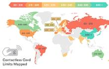 Contactless Card Caps Mapped: UK Lags Behind Asia