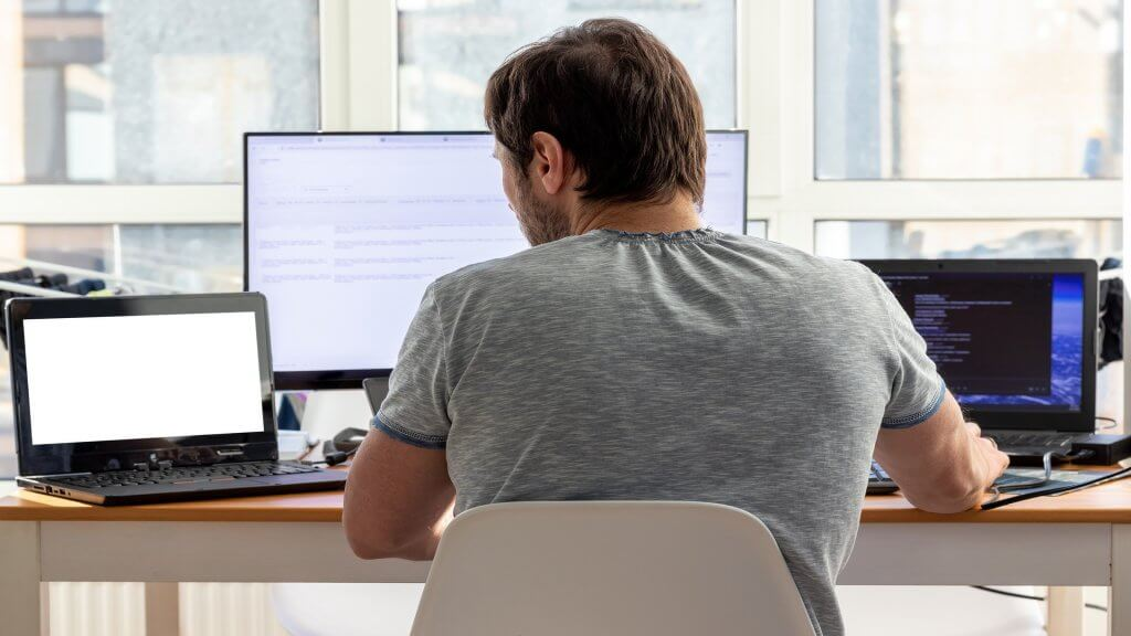 Remote worker coding and programming
